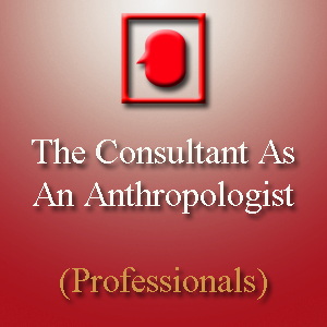 The Consultant as an Anthropologist