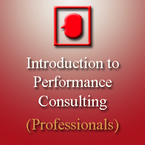 Introduction to Performance Consulting